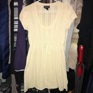 Ralph Lauren Cable Knit Sweater Tunic Babydoll
